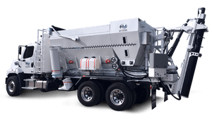 holcombe mixers hm12he volumetric concrete mixer truck